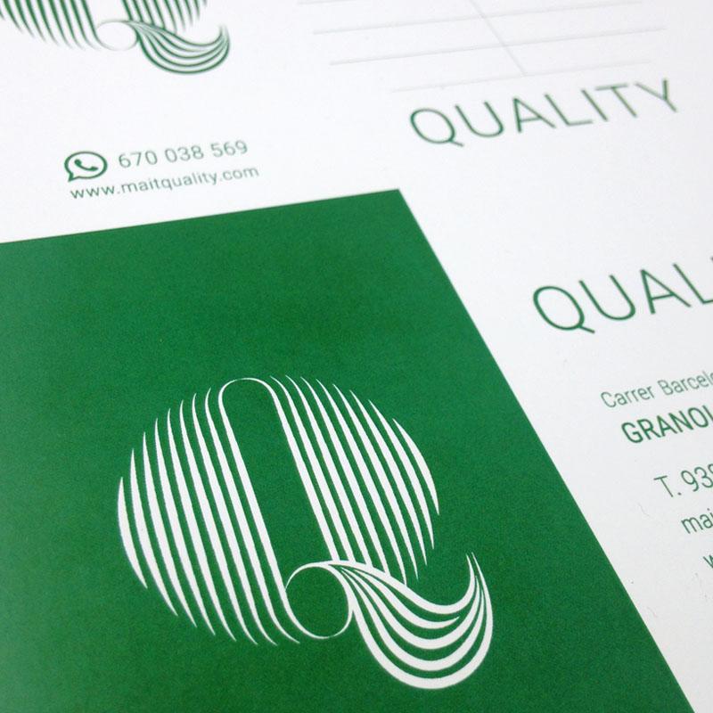 Quality - Diseño tarjeta de visita