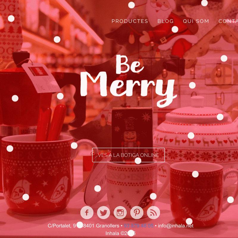 Inhala - Adaptación imagen web Navidad