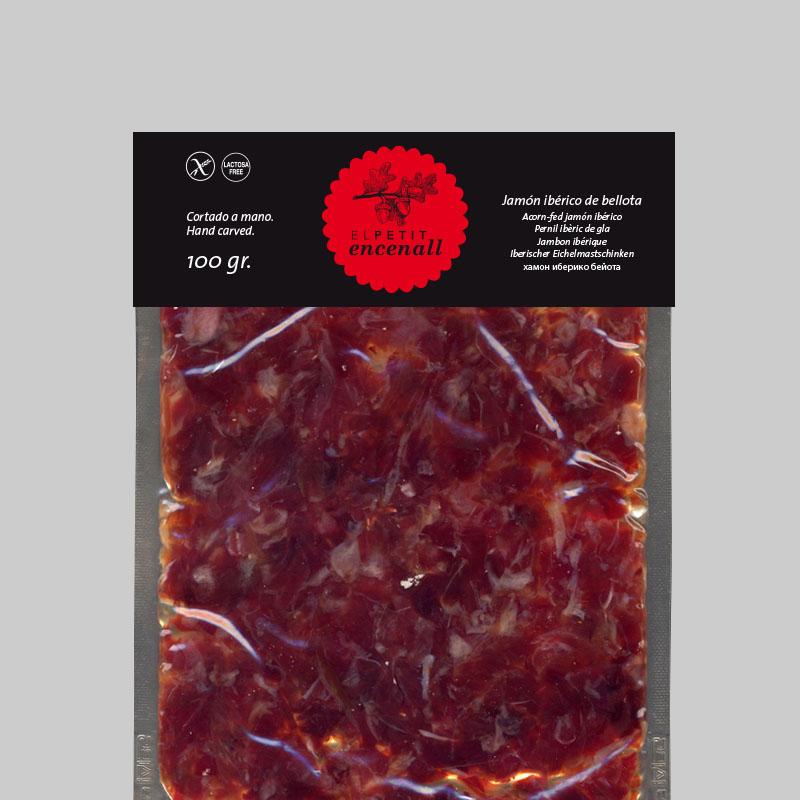 Petit encenall - Etiqueta packaging
